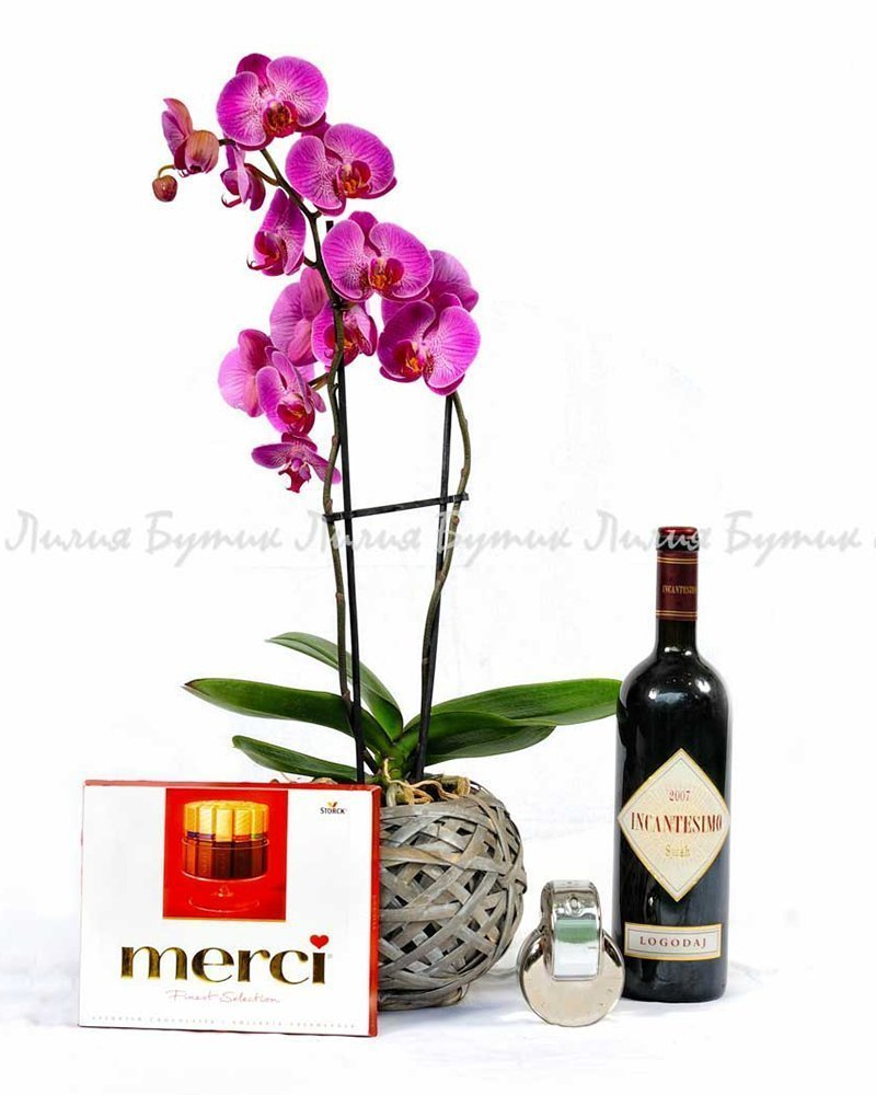 """Любовен сет """"Циклама"""" цветя Варна"""